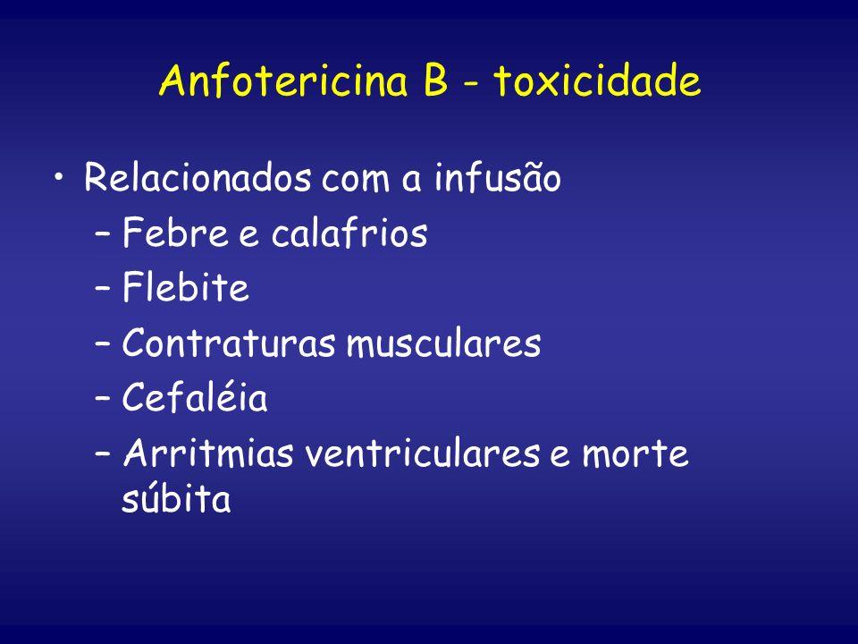 Anfotericina B - toxicidade