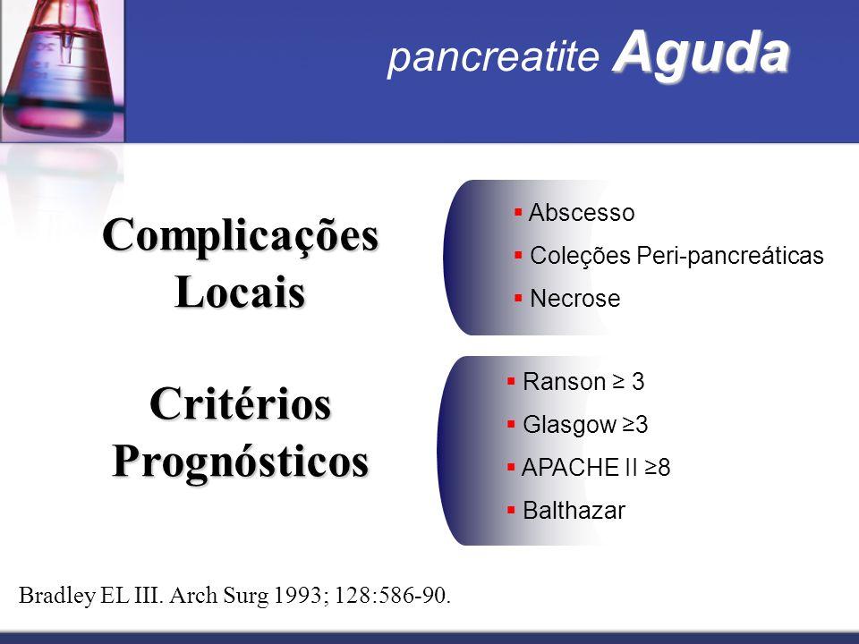 Critérios Prognósticos