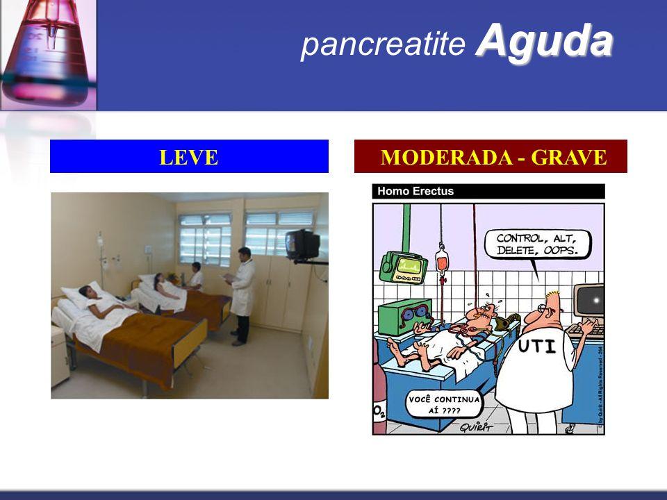pancreatite Aguda LEVE MODERADA - GRAVE