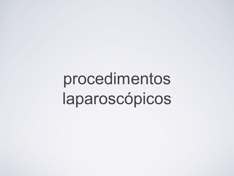 procedimentos laparoscópicos