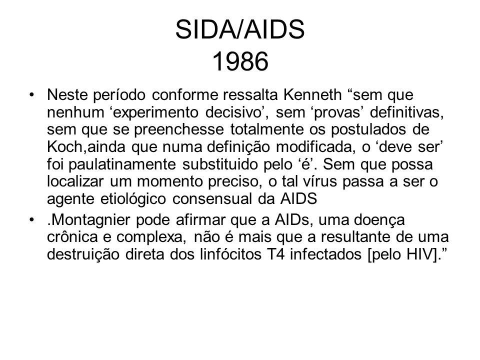 SIDA/AIDS 1986