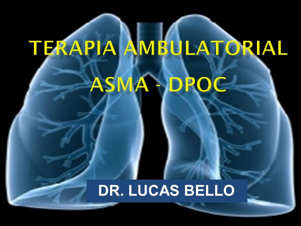 TERAPIA AMBULATORIAL ASMA - DPOC