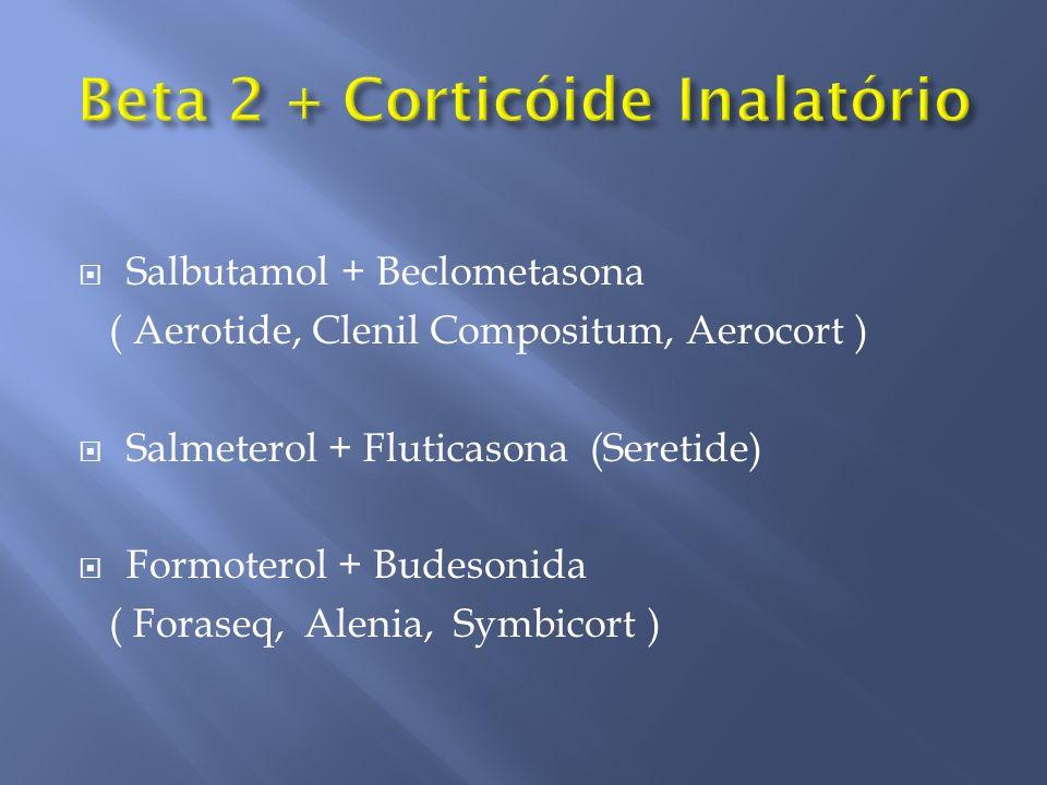 Beta 2 + Corticóide Inalatório