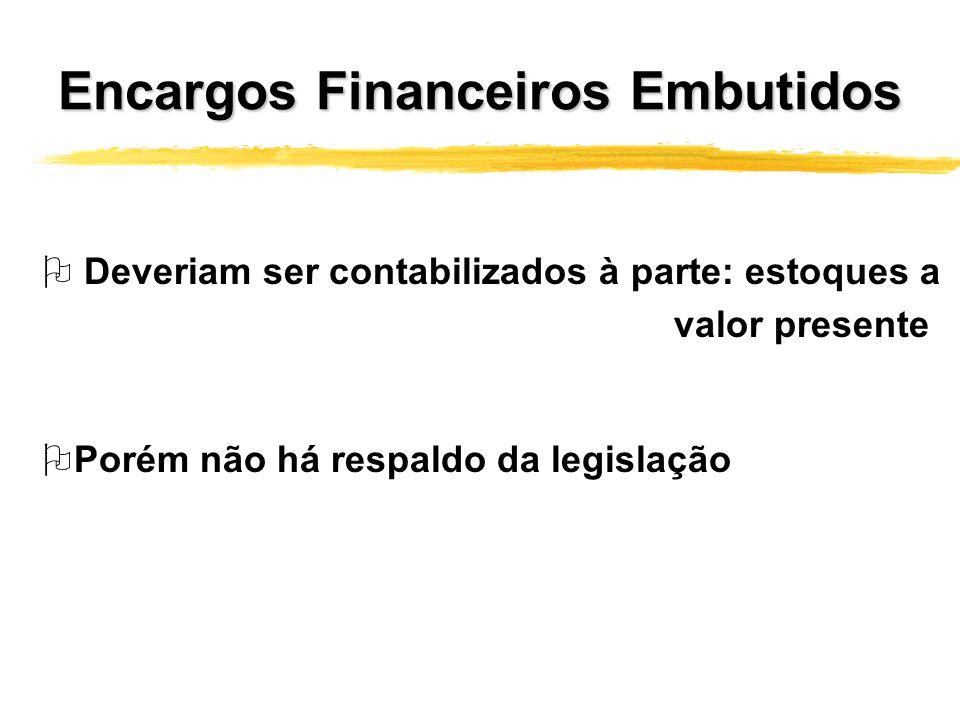 Encargos Financeiros Embutidos