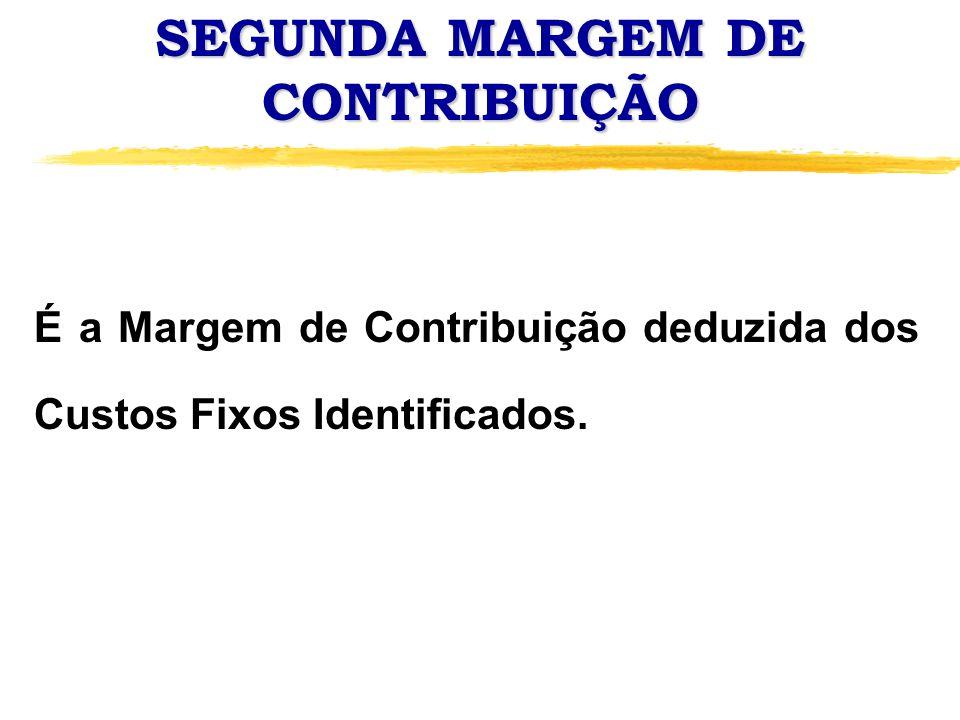 SEGUNDA MARGEM DE CONTRIBUIÇÃO