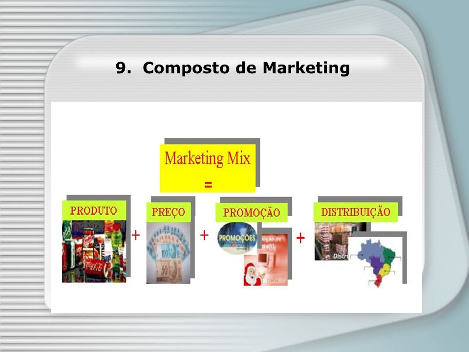 9. Composto de Marketing