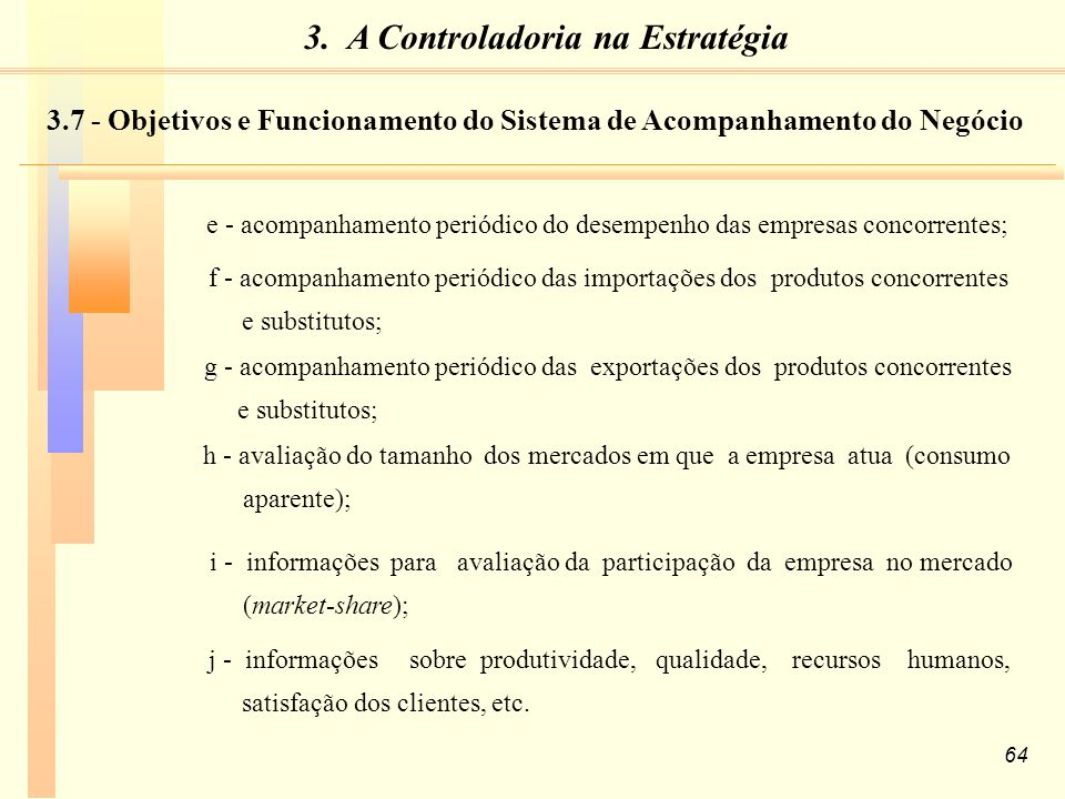3. A Controladoria na Estratégia