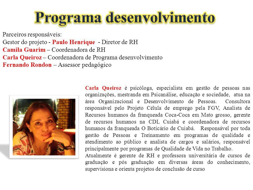 Programa desenvolvimento