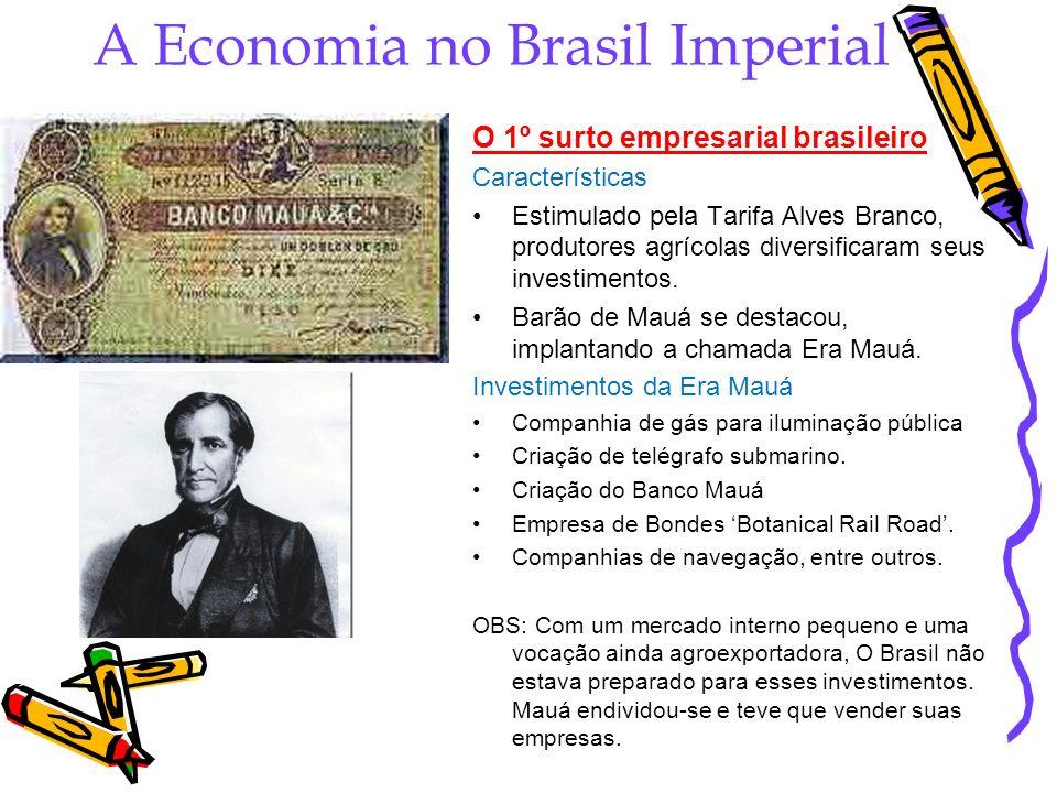 A Economia no Brasil Imperial
