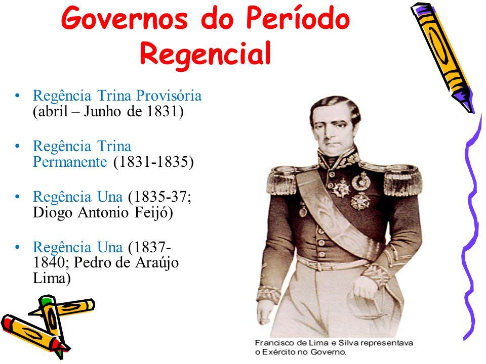 Governos do Período Regencial