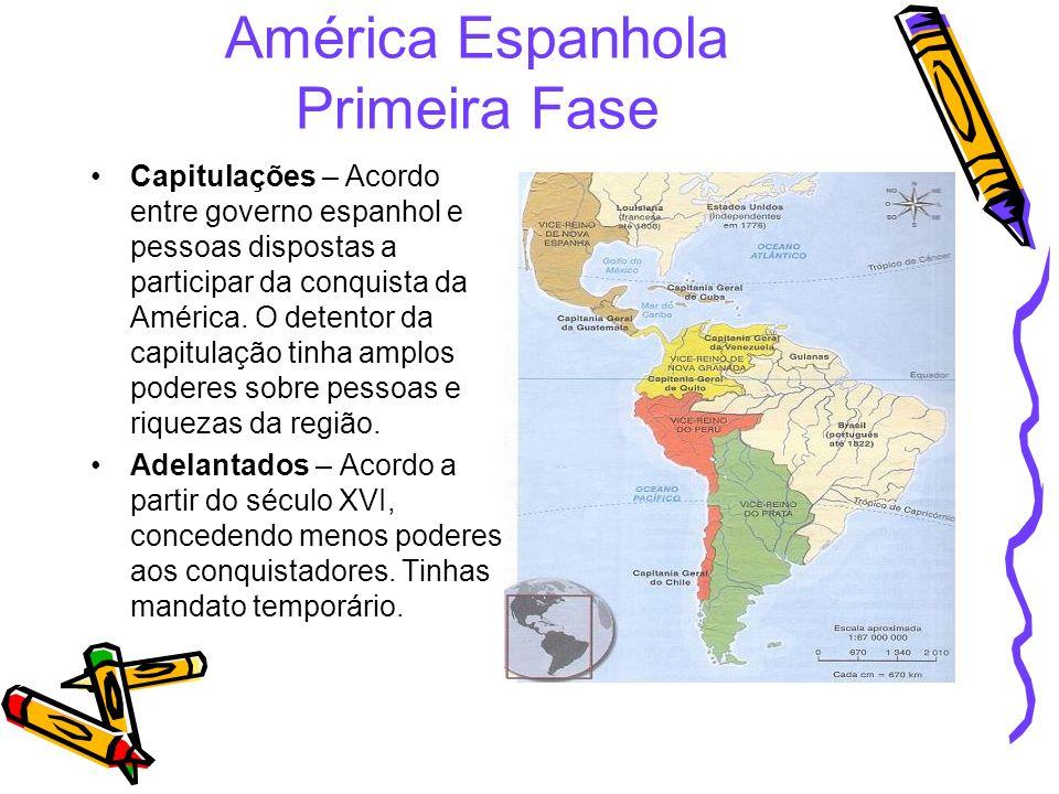 América Espanhola Primeira Fase