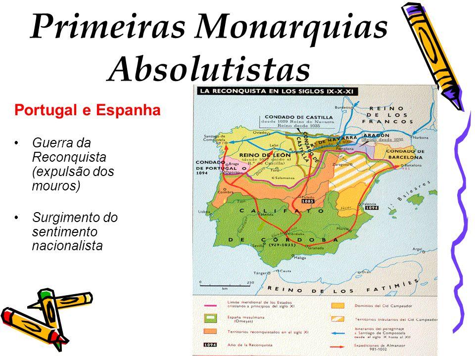 Primeiras Monarquias Absolutistas