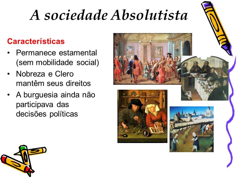 A sociedade Absolutista