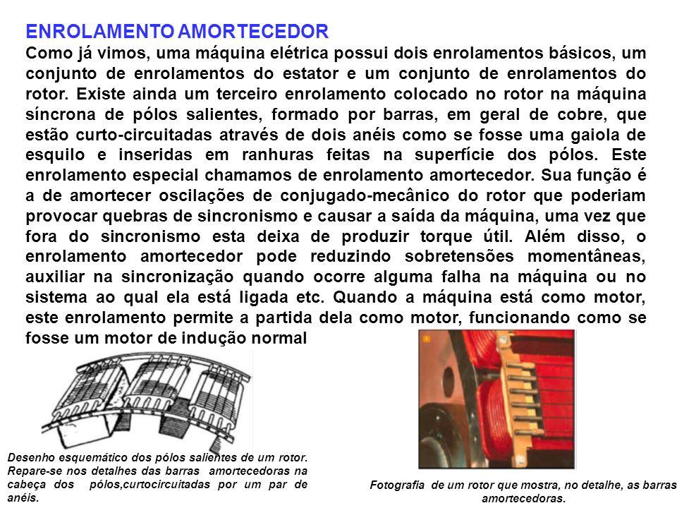 ENROLAMENTO AMORTECEDOR
