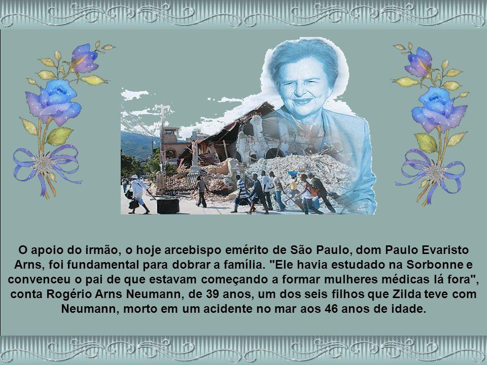 O apoio do irmão, o hoje arcebispo emérito de São Paulo, dom Paulo Evaristo Arns, foi fundamental para dobrar a família.