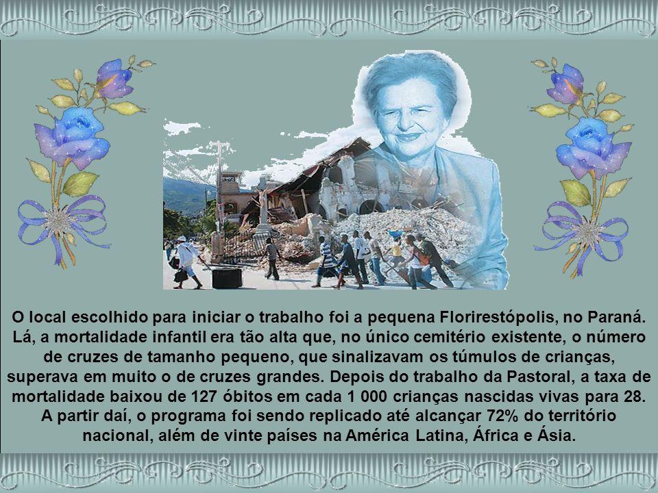 O local escolhido para iniciar o trabalho foi a pequena Florirestópolis, no Paraná.