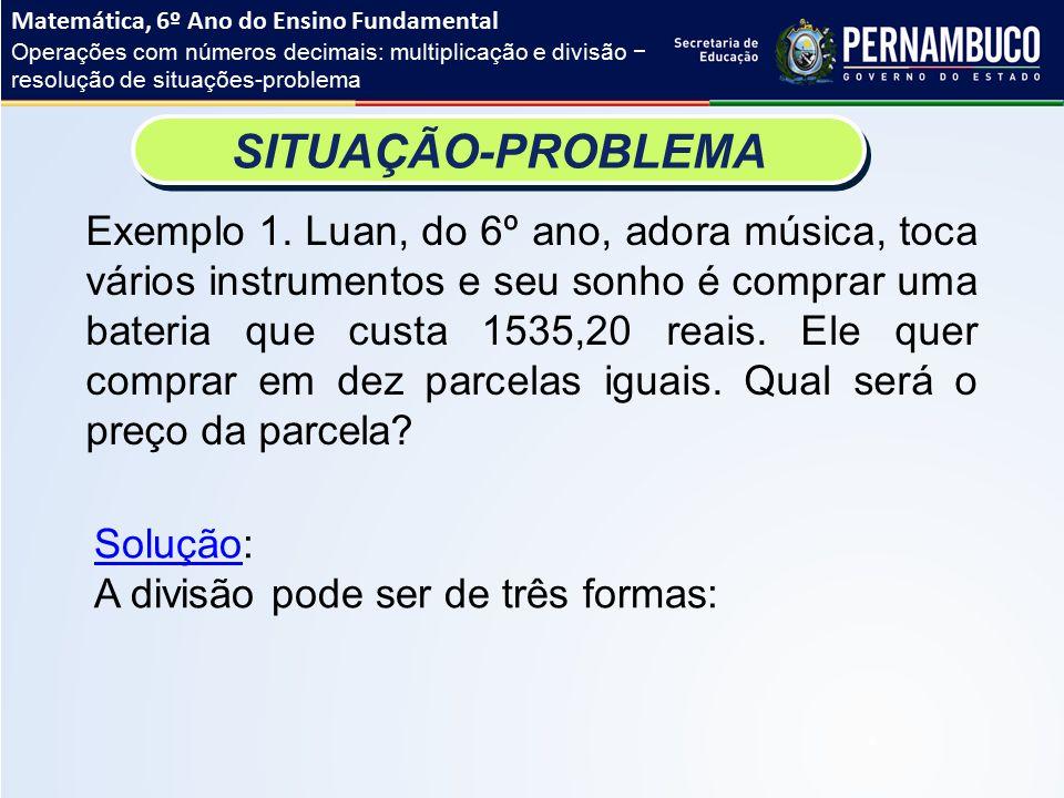 Resolução de problemas de matematica ensino fundamental
