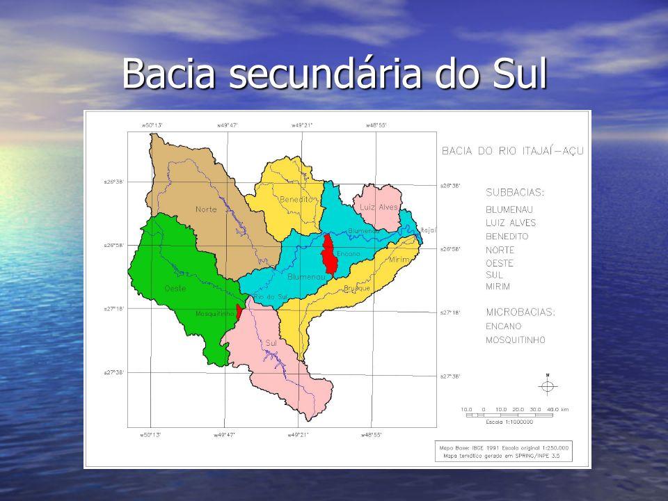 Bacia secundária do Sul
