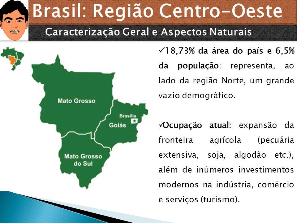 Brasil: Região Centro-Oeste Caracterização Geral e Aspectos Naturais
