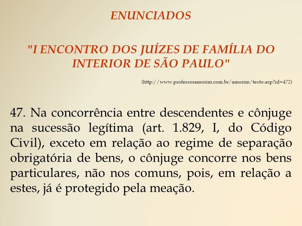 I ENCONTRO DOS JUÍZES DE FAMÍLIA DO INTERIOR DE SÃO PAULO