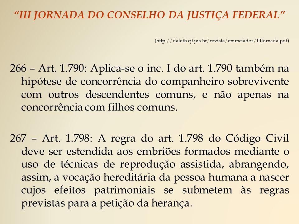 III JORNADA DO CONSELHO DA JUSTIÇA FEDERAL