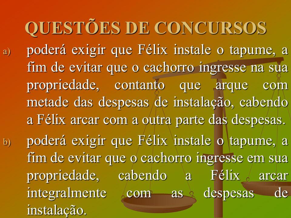 QUESTÕES DE CONCURSOS