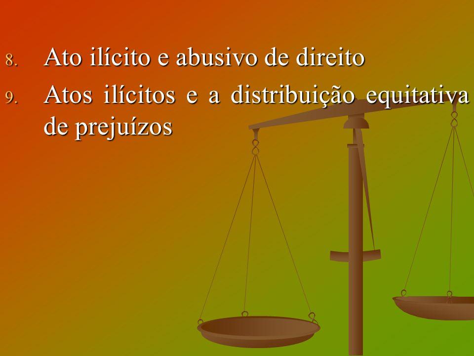Ato ilícito e abusivo de direito