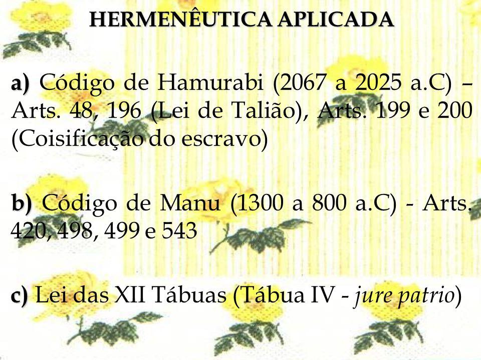 HERMENÊUTICA APLICADA