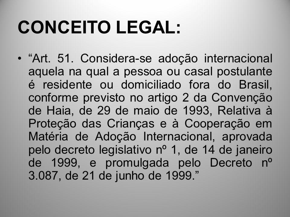 CONCEITO LEGAL:
