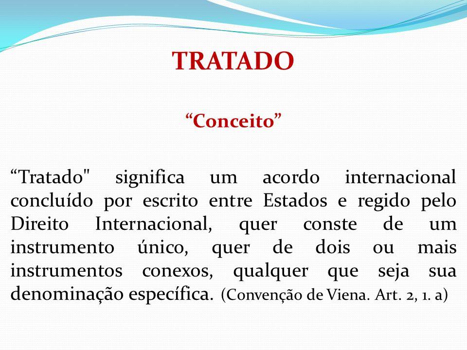 TRATADO Conceito