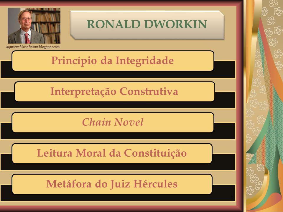 RONALD DWORKIN Princípio da Integridade Interpretação Construtiva