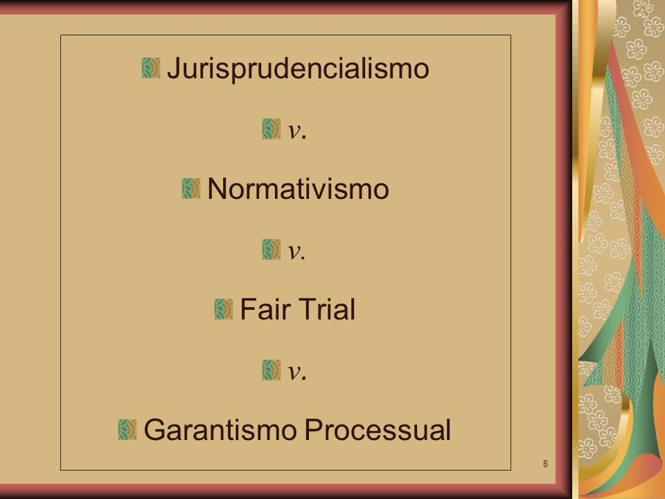 Garantismo Processual