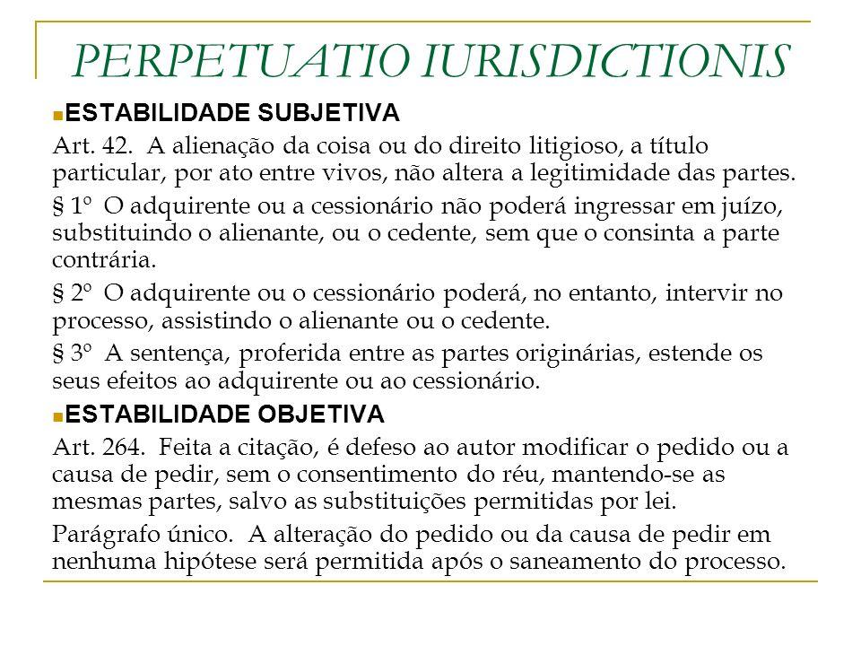 PERPETUATIO IURISDICTIONIS