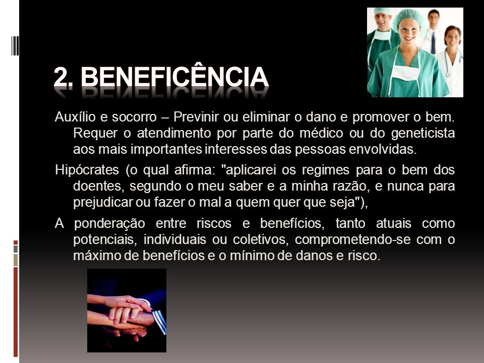 2. BENEFICÊNCIA