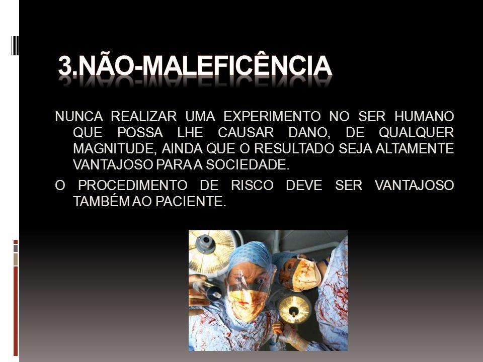 3.NÃO-MALEFICÊNCIA