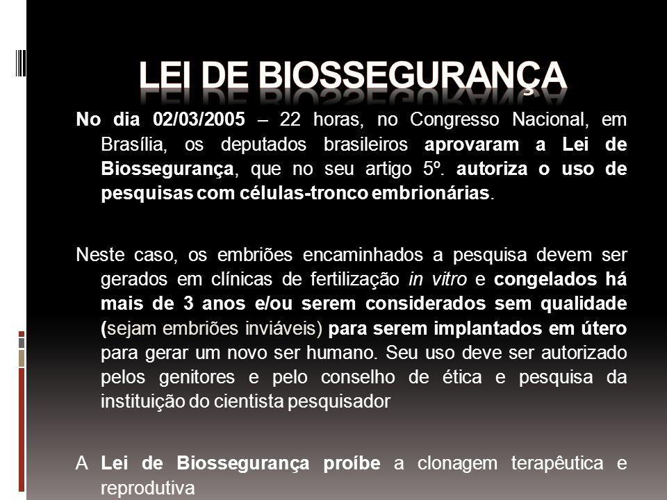 Lei de Biossegurança