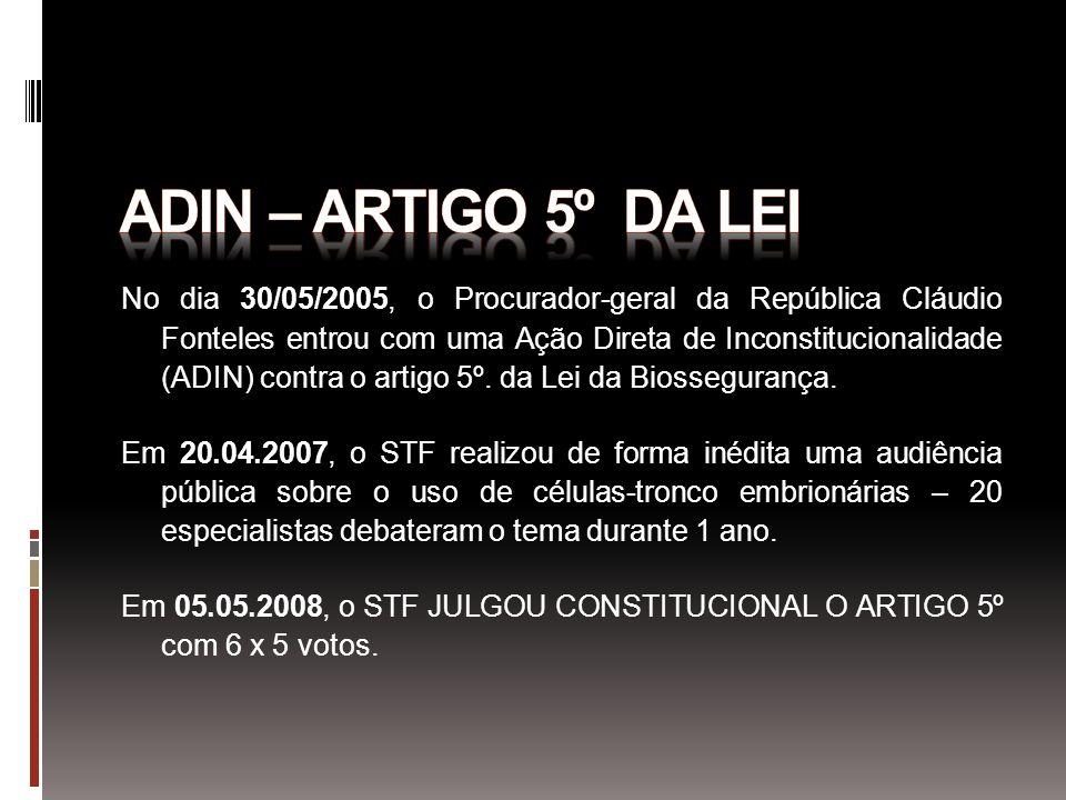 Adin – artigo 5º da lei