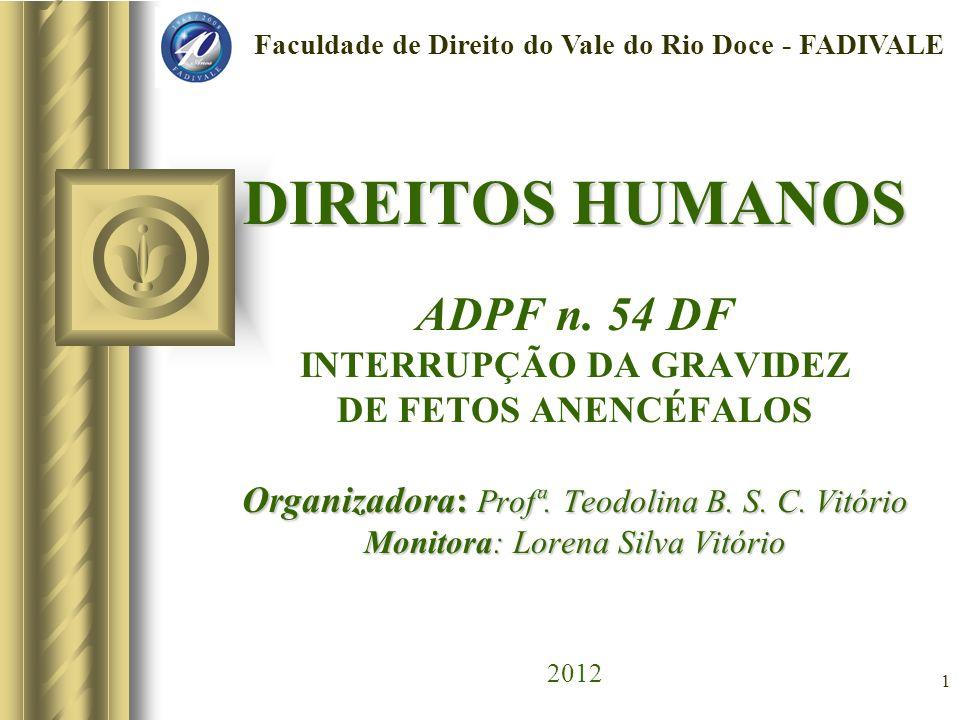 Faculdade de Direito do Vale do Rio Doce - FADIVALE