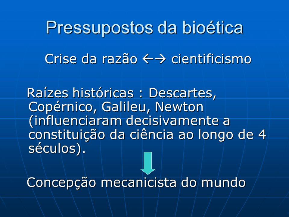 Pressupostos da bioética