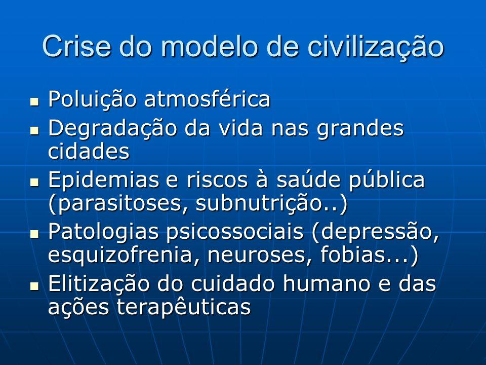 Crise do modelo de civilização