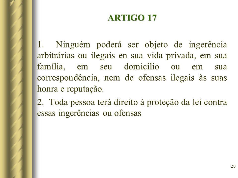 ARTIGO 17