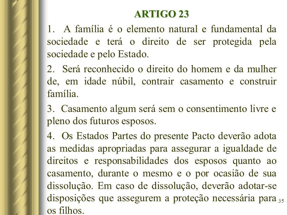 ARTIGO 23 1.