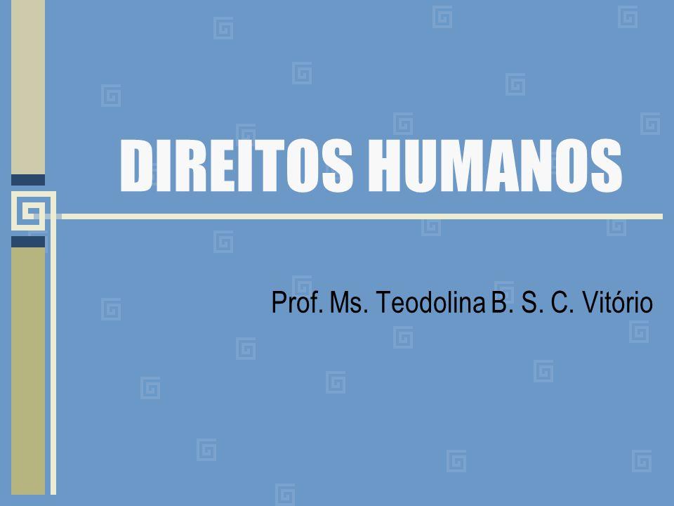 Prof. Ms. Teodolina B. S. C. Vitório