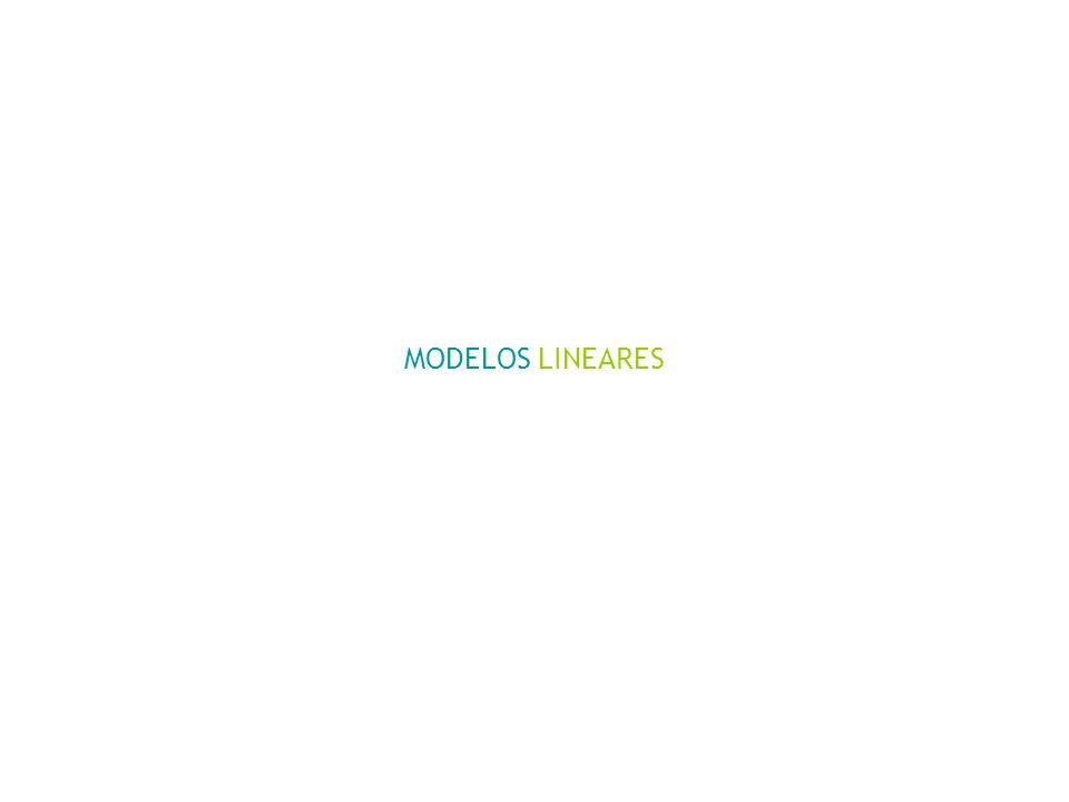 MODELOS LINEARES