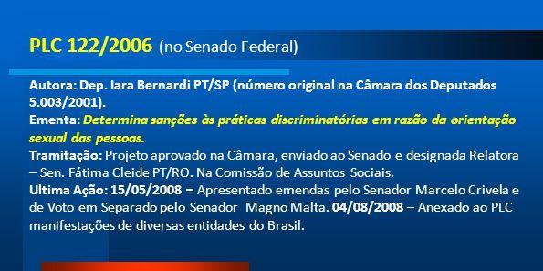PLC 122/2006 (no Senado Federal)