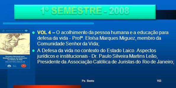1º SEMESTRE - 2008