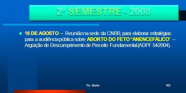 2º SEMESTRE - 2008