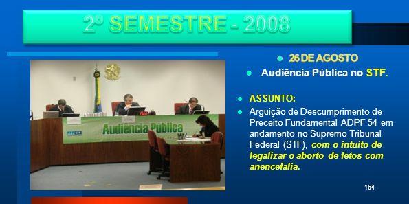 Audiência Pública no STF.