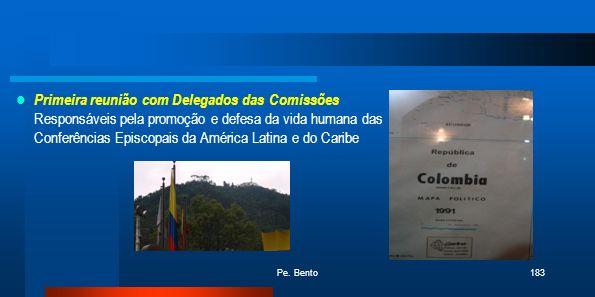 Primeira reunião com Delegados das Comissões Responsáveis pela promoção e defesa da vida humana das Conferências Episcopais da América Latina e do Caribe