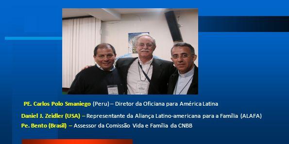 PE. Carlos Polo Smaniego (Peru) – Diretor da Oficiana para América Latina